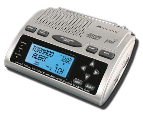 Receptor de Radio NOAA
